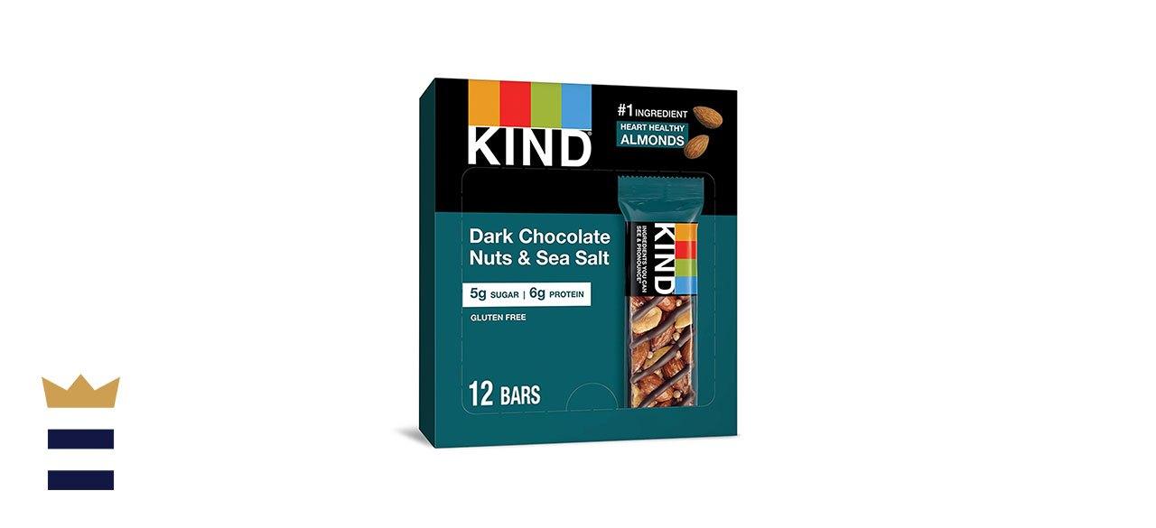 KIND's Bar with Dark Chocolate, Nuts, and Sea Salt