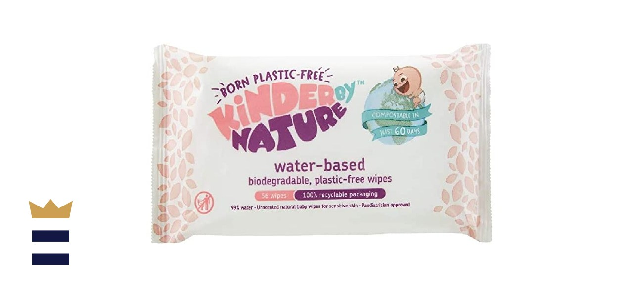 Kinder by Nature Water-Based Baby Wipes