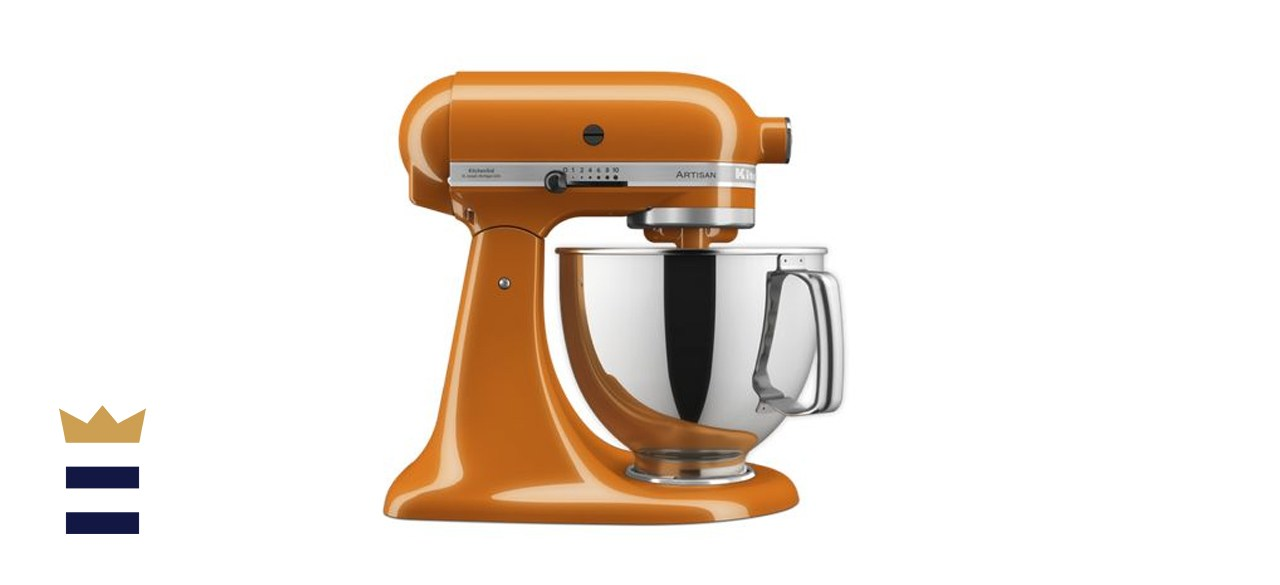 Artisan Series 5 Quart Tilt-Head Stand Mixer in Honey