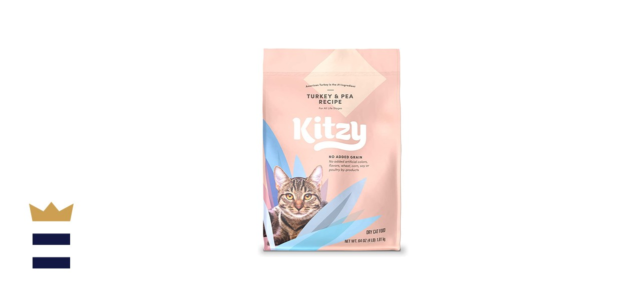 Kitzy Turkey & Pea Dry Cat Food