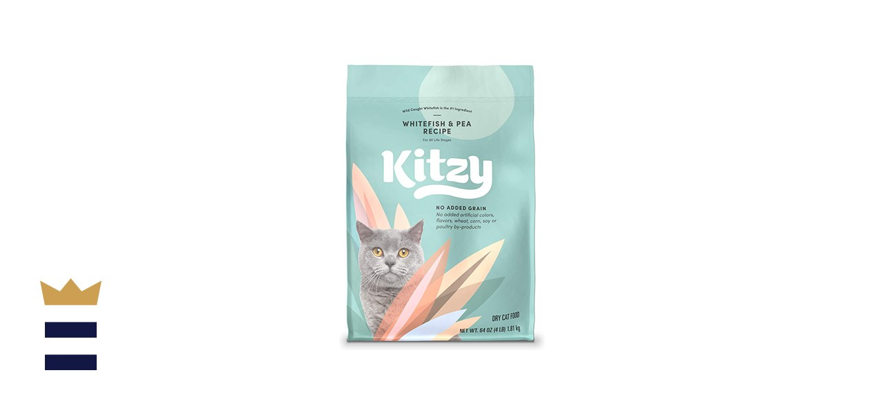 Kitzy Whitefish & Pea Dry Cat Food