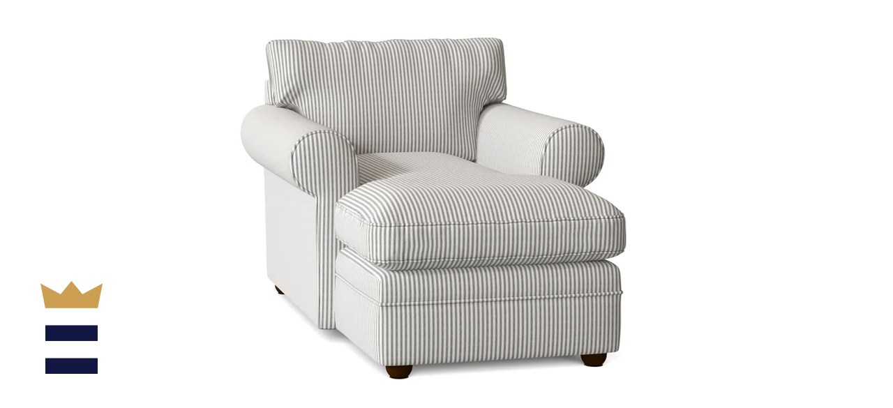 Klaussner Furniture Comfy Chaise
