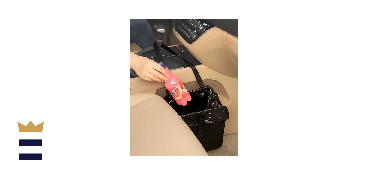 KM Motors Foldable Car Garbage Can