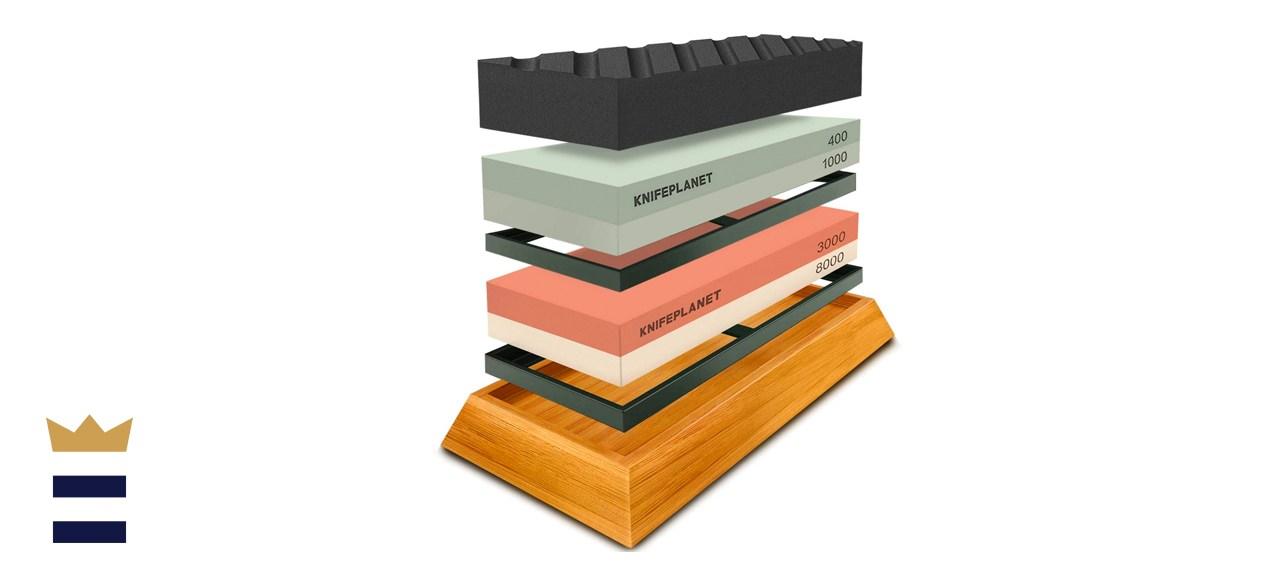 KnifePlanet Complete Knife Sharpening Stone Set