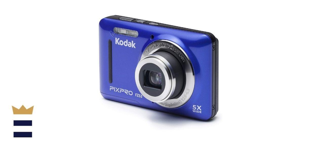 Kodak FZ53-BL Point and Shoot Digital Camera