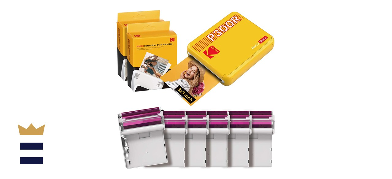 Kodak Mini 3 Retro 3x3 Portable Photo Printer
