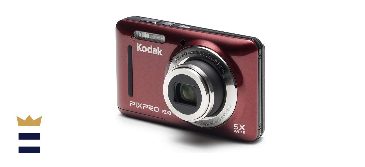 Kodak PIXPRO Friendly FZ53-RD Zoom Digital Camera With 5x Optical Zoom