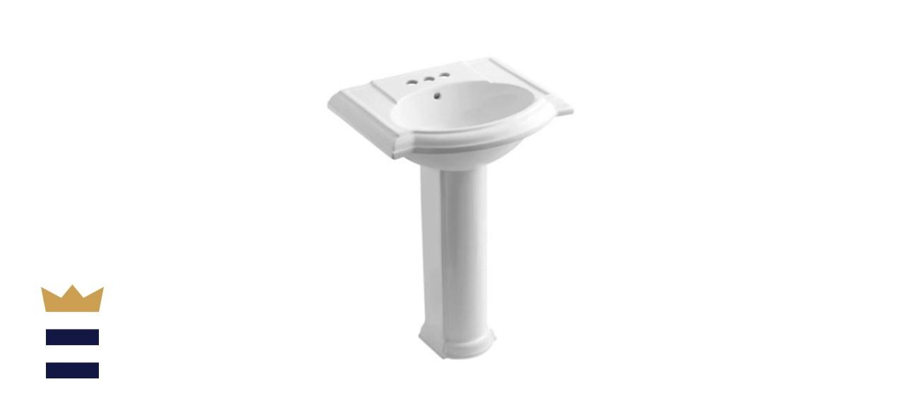Kohler's Devonshire Pedestal Sink