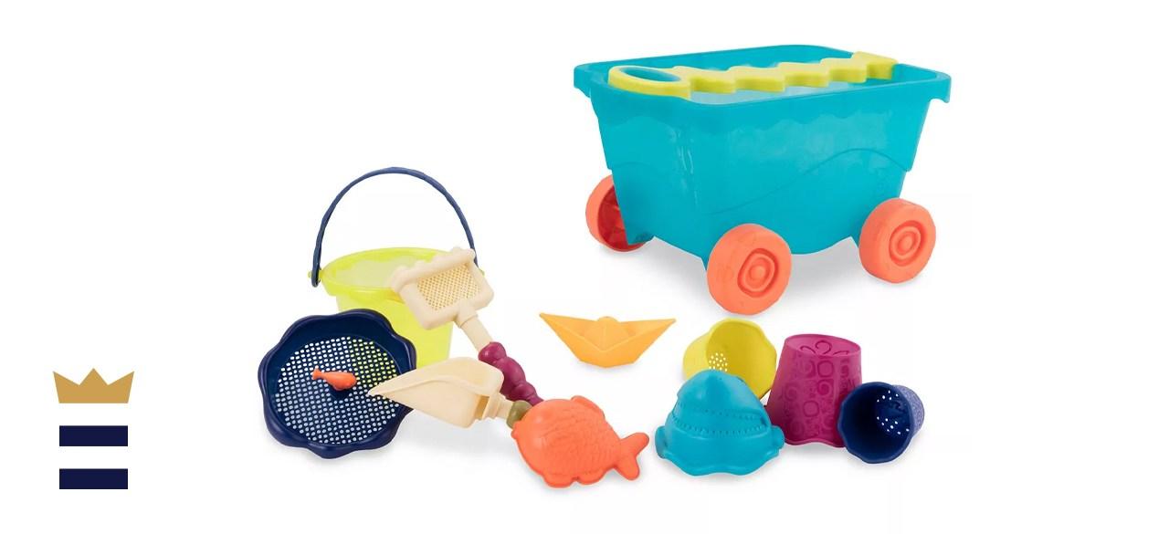 B. Toys Travel Beach Wagon Set