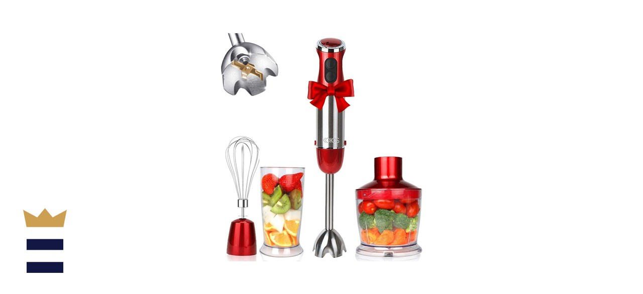 KOIOS 4-in-1 Hand Immersion Blender