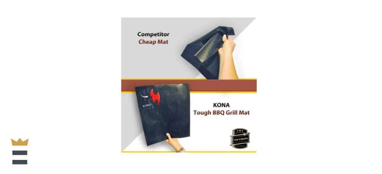 Lavon Kona Best BBQ Grill Mat