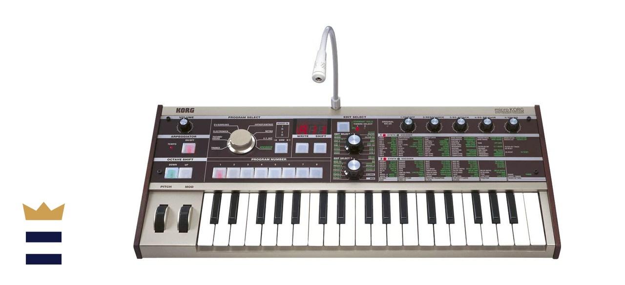 Korg MicroKorg 37-Key Analog Modeling Voice Synthesizer