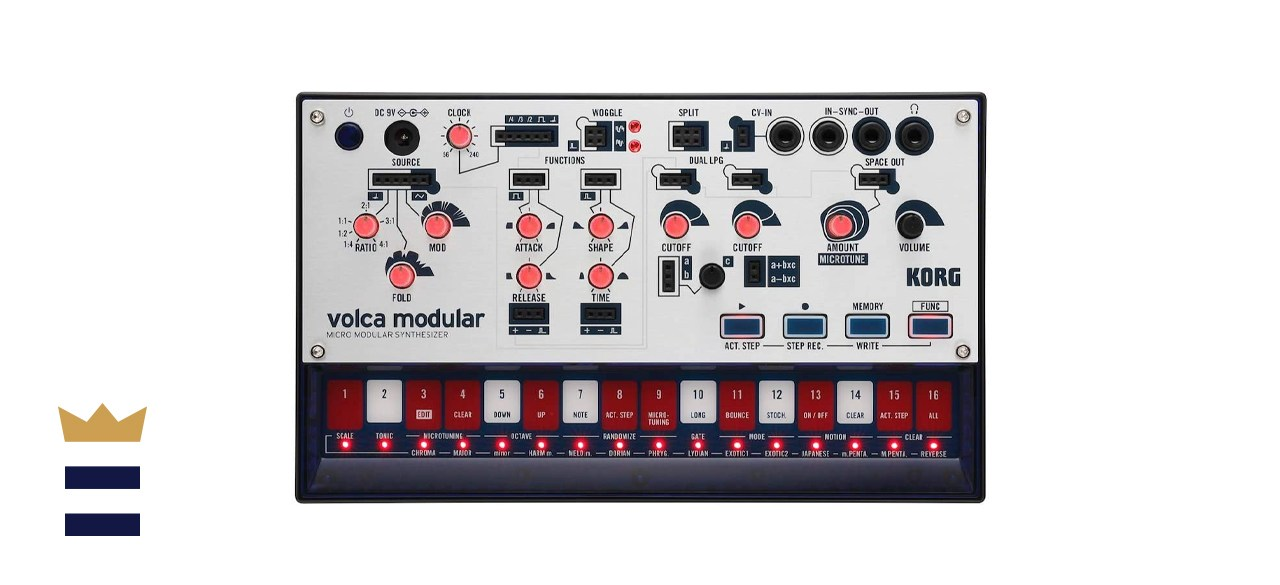 Korg Volca Modular Miniature Semi-Modular Synthesizer