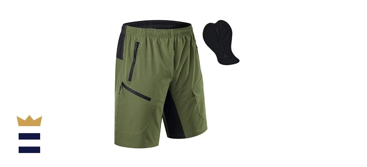 KPSUN Men's Mountain Bike Shorts