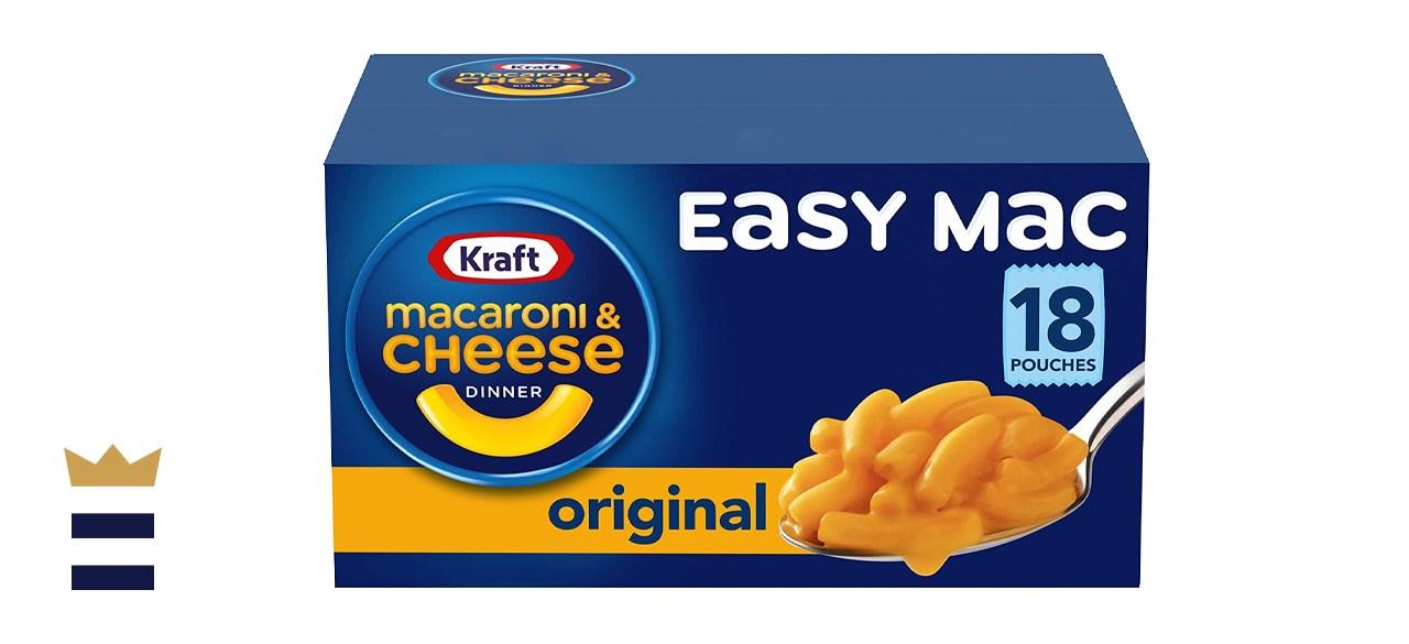 Kraft Easy Mac Original Flavor Macaroni and Cheese Pouches