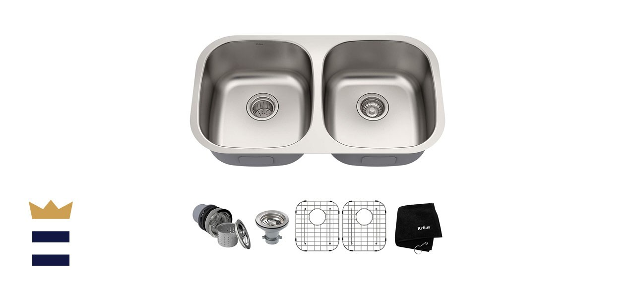 Kraus 16-Gauge Stainless Steel Sink