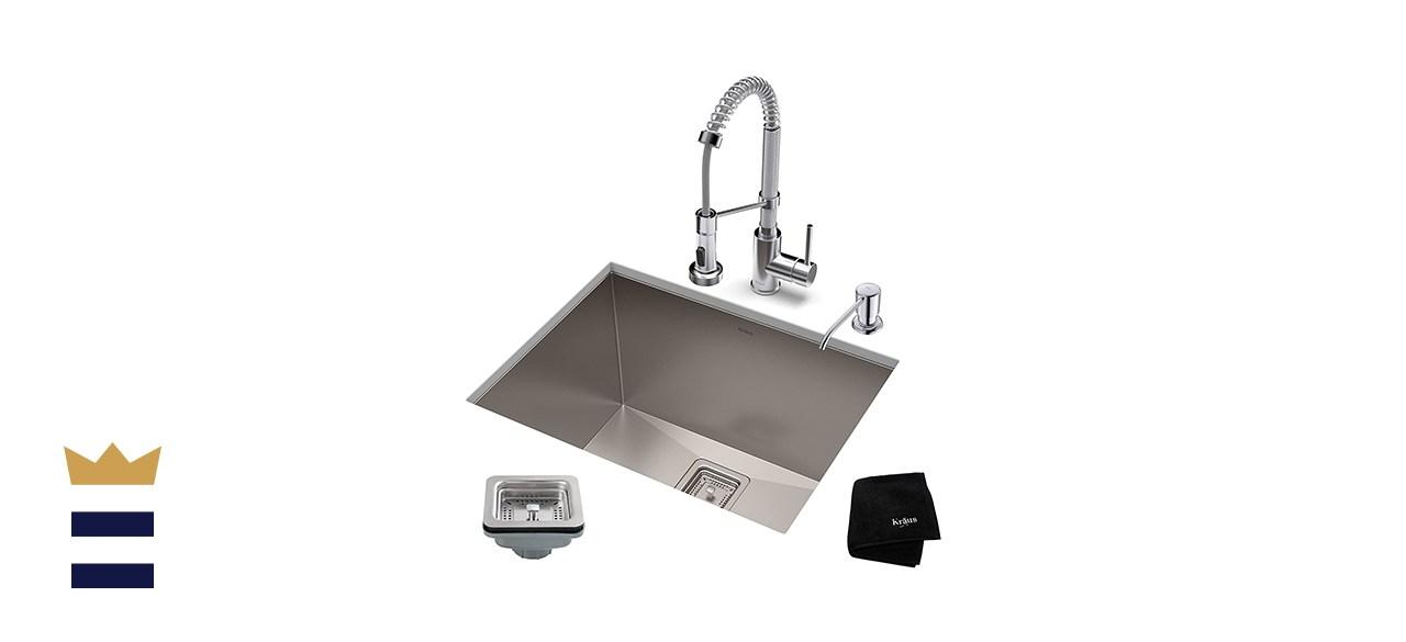 Kraus Pax Stainless Steel Utility Sink