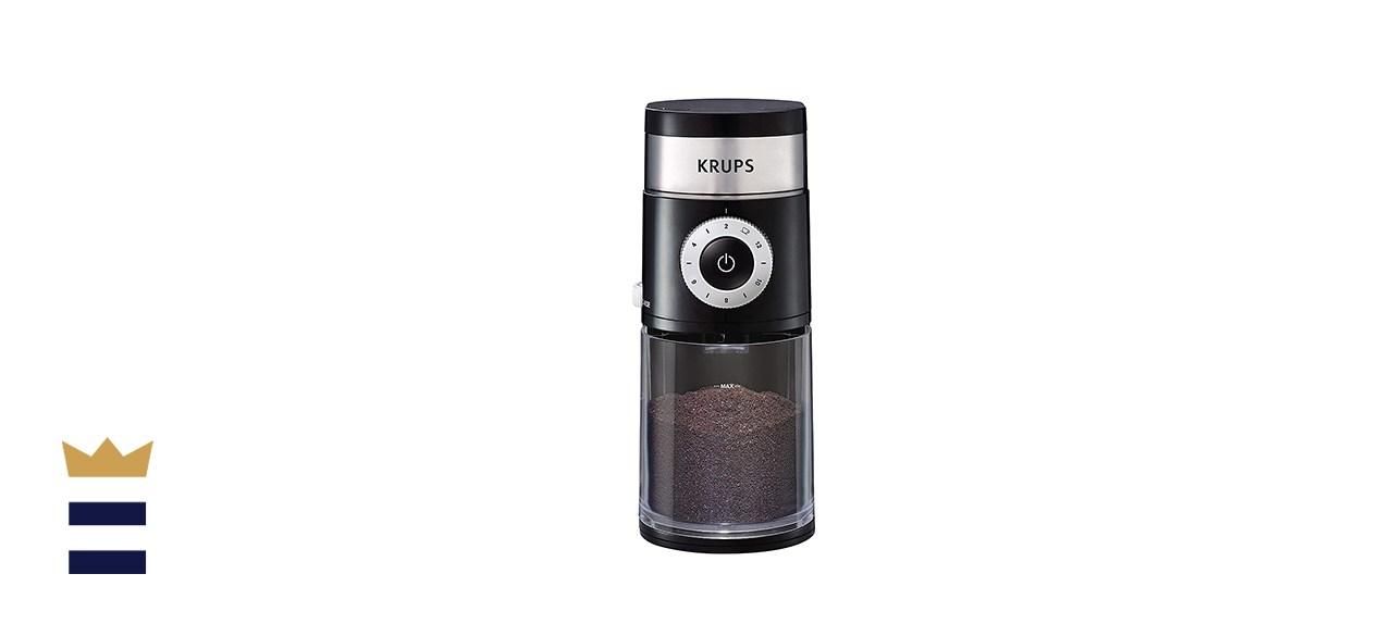 KRUPS Precision Flat Burr Coffee Grinder