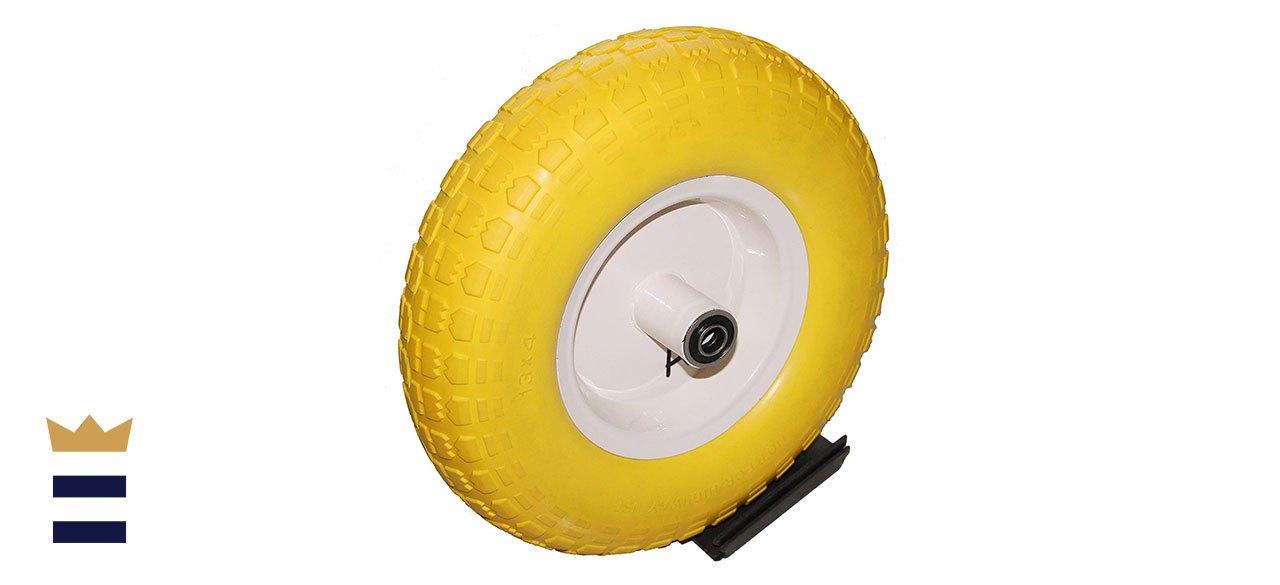 Kunhua's 6-Inch Flat-Free Wheelbarrow Tire