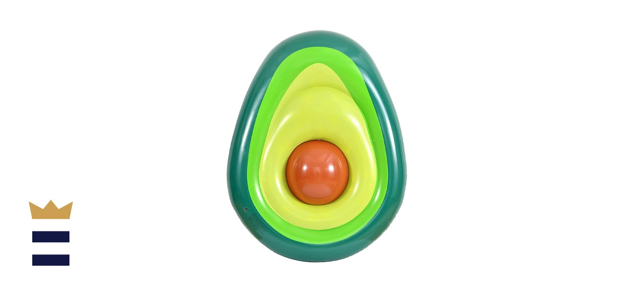 Kurala Inflatable Avocado Pool Float