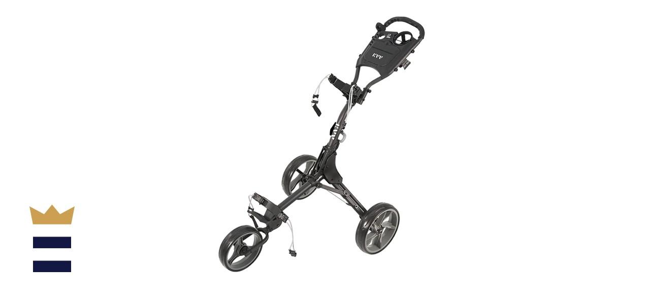 KVV Three-Wheel Golf Push Cart