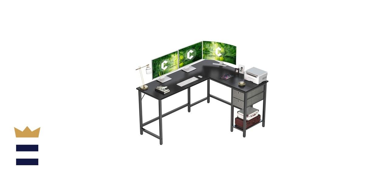 L-shaped corner desks