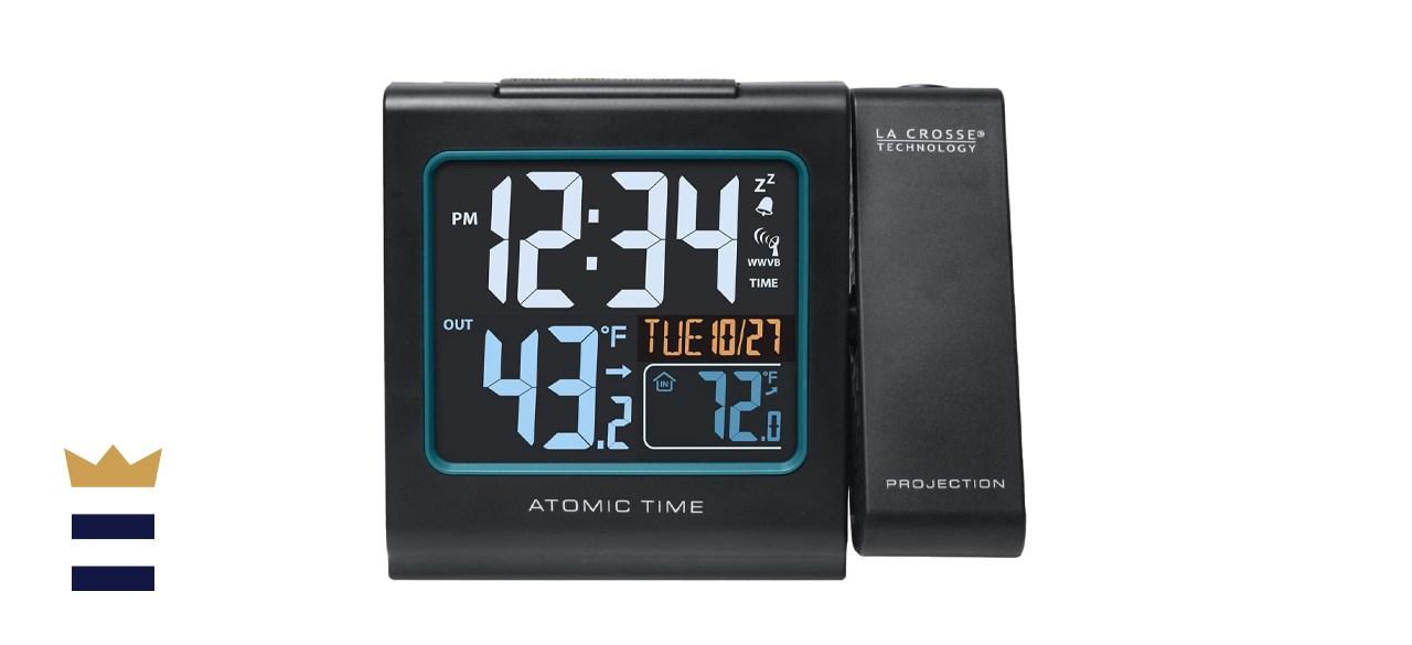La Crosse Technology Color Projection Alarm Clock