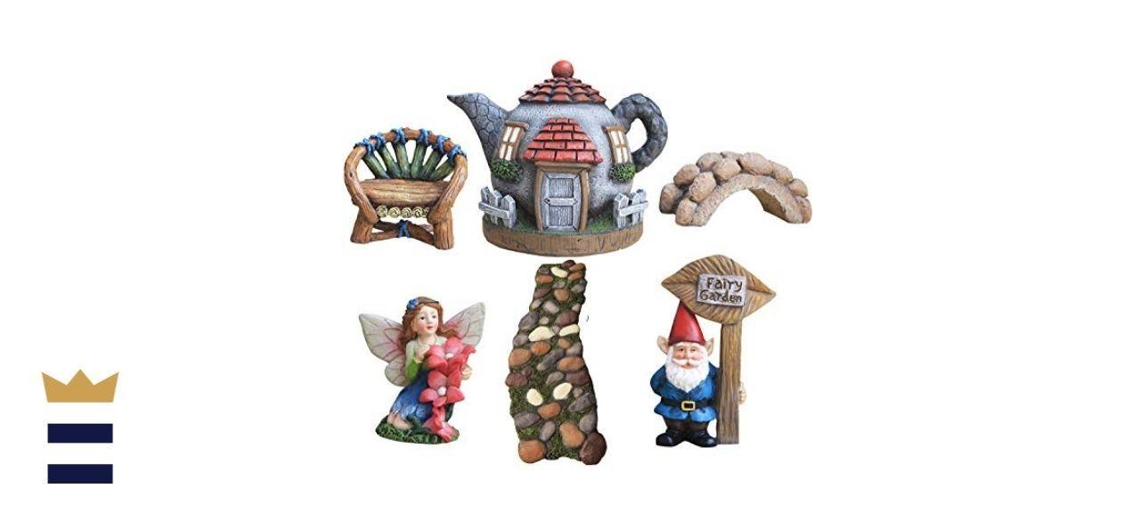 La Jolíe Muse Fairy Garden Accessories Kit