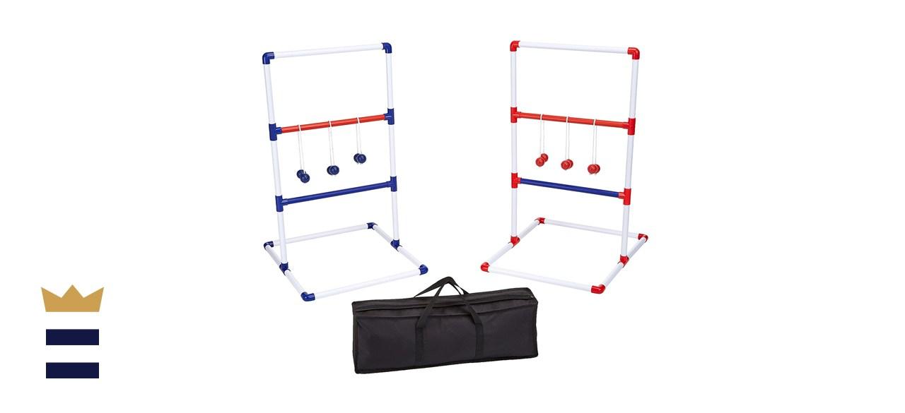 Amazon Basics Ladder Toss Outdoor Lawn Game Set