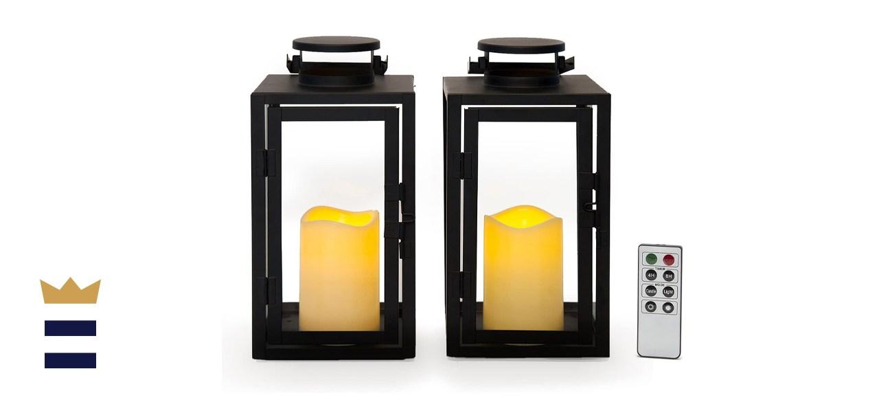 Lamplust Vintage Decorative Candle Lanterns