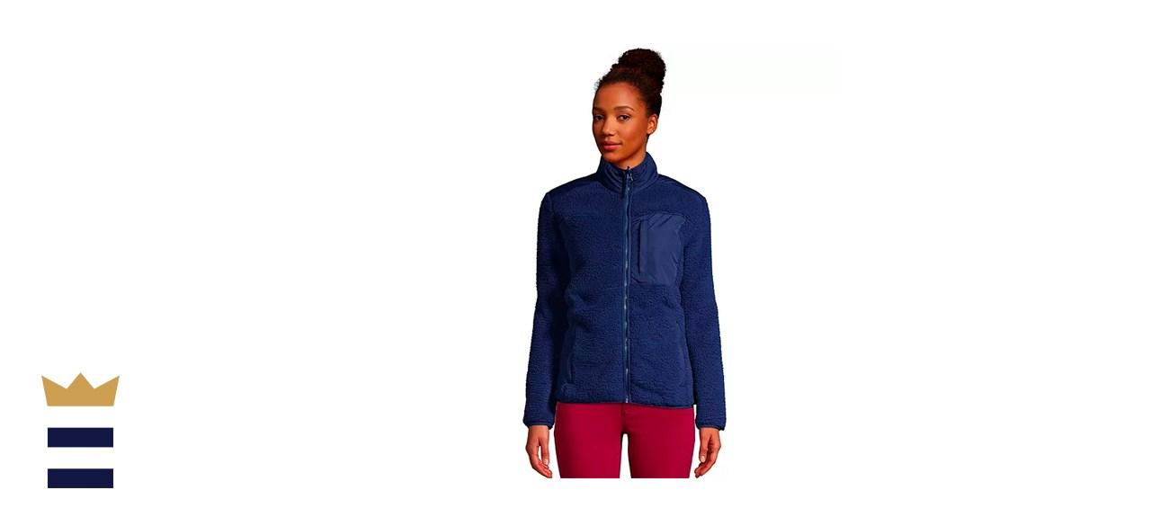Lands' End Women's Cozy Fleece Jacket