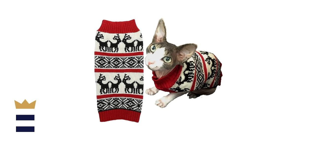 Lanyar Reindeer Holiday Sweater