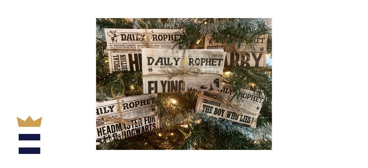 LaReesCollection Daily Prophet Christmas Ornament