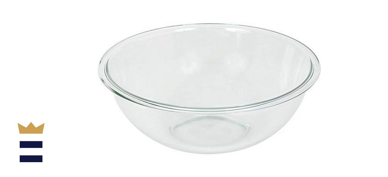 Pyrex Prepware 4-Quart Rimmed Mixing Bowl