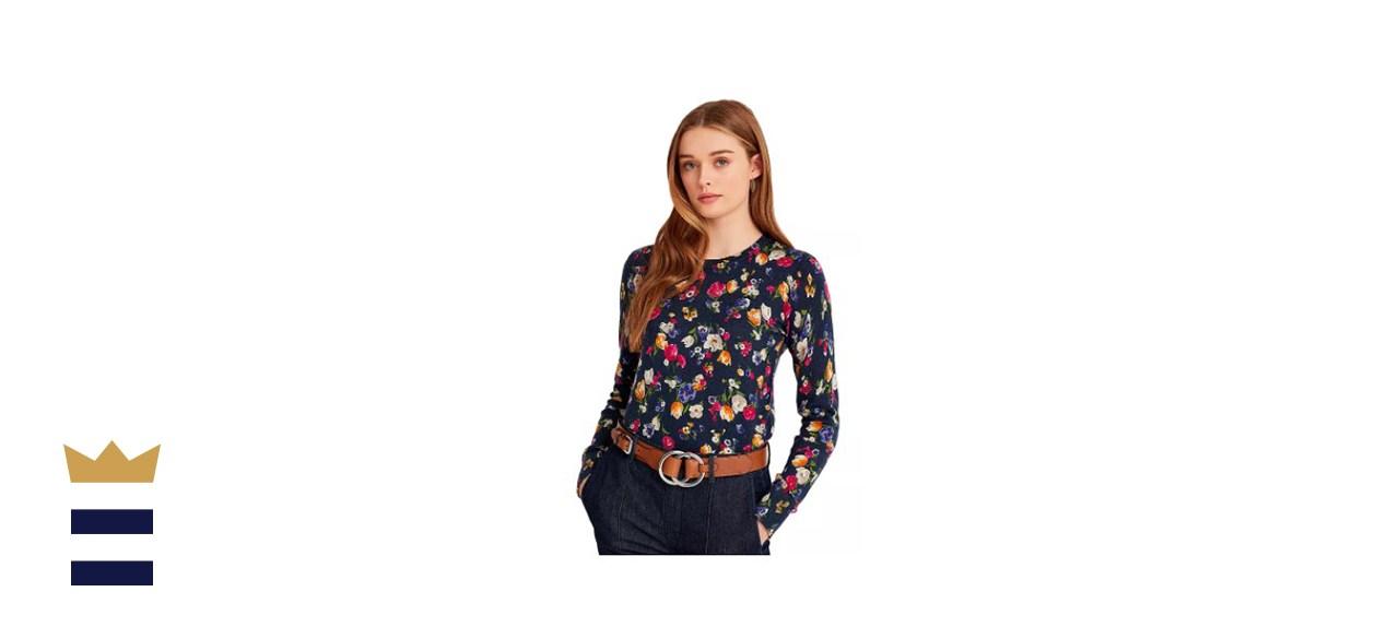 Lauren Ralph Lauren Cotton-Blend Crewneck Sweater