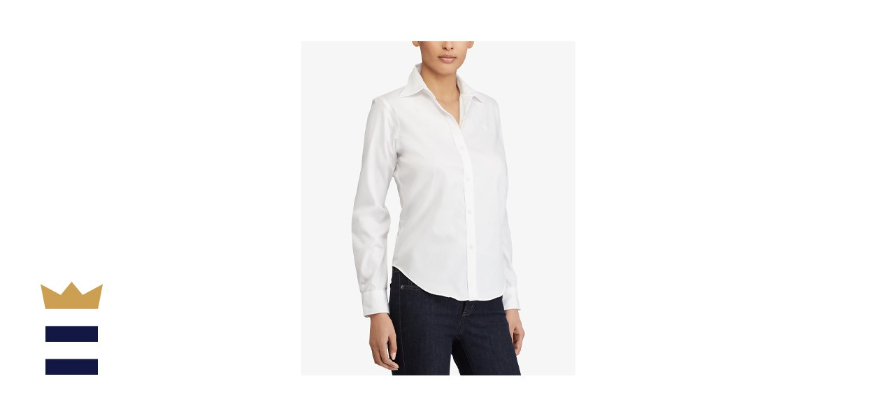 Lauren Ralph Lauren Long-Sleeve Non-Iron Shirt
