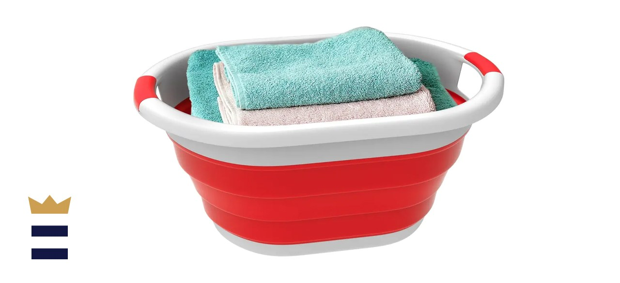 Lavish Home Collapsible Laundry Basket