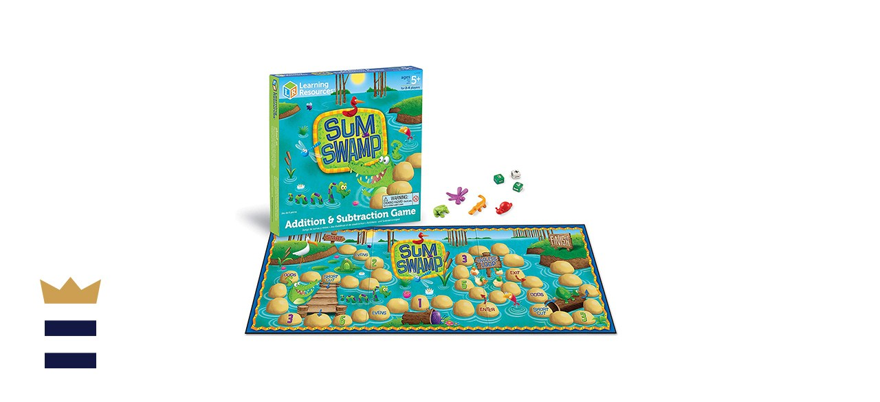 Learning Resources' Sum Swamp Game