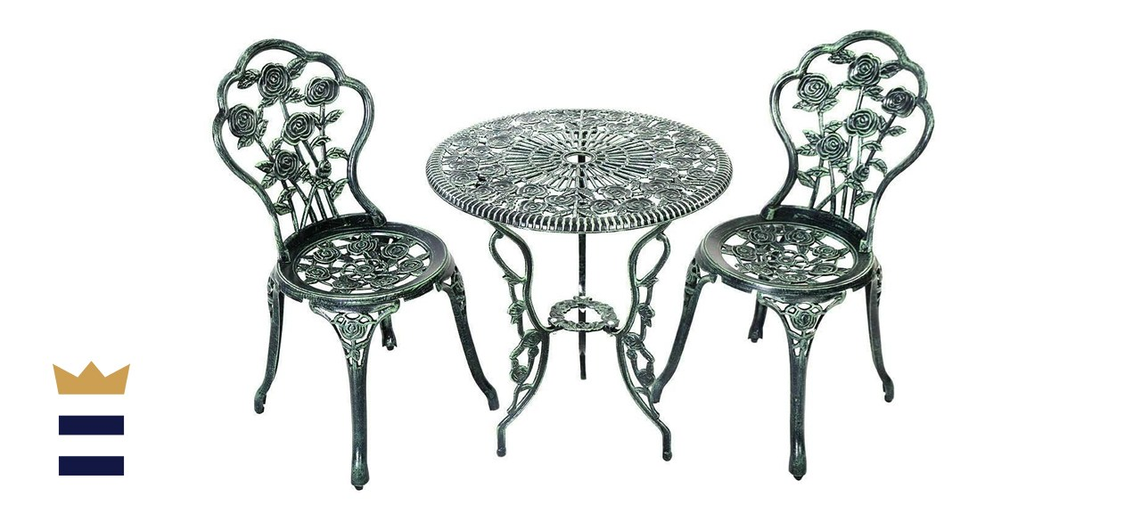 Oakland Rose Patio Bistro Set