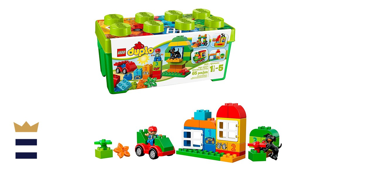 LEGO DUPLO Big Construction Site Building Set