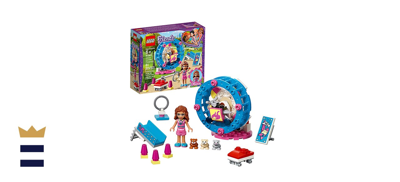 Lego Friends Olivia's Hamster Playground 41383 Building Kit