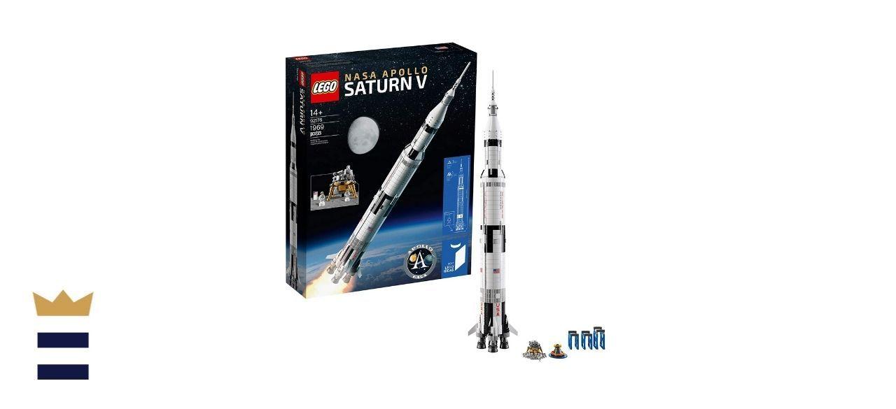 LEGO Ideas NASA Apollo Saturn V 92176 Outer Space Model Rocket