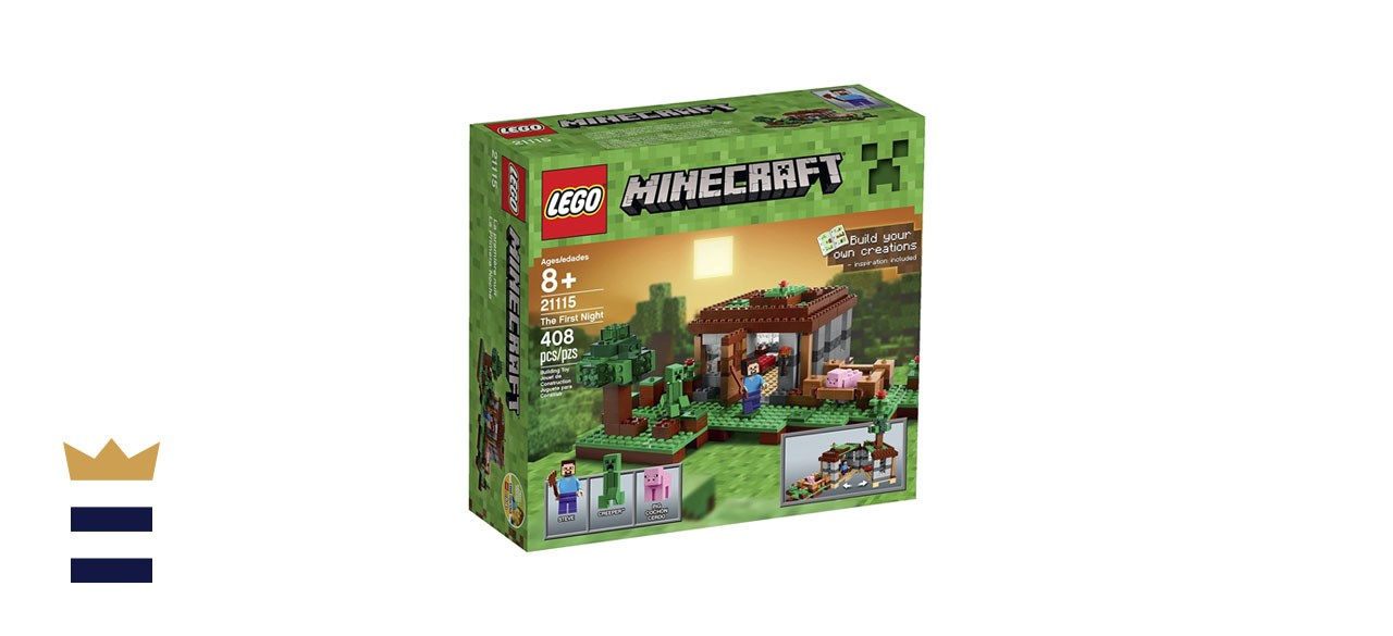 LEGO Minecraft 21115 The First Night set
