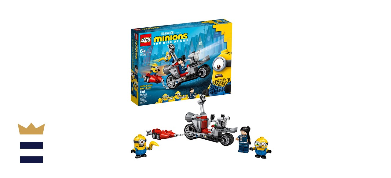 LEGO Minions Unstoppable Bike Chase Building Kit