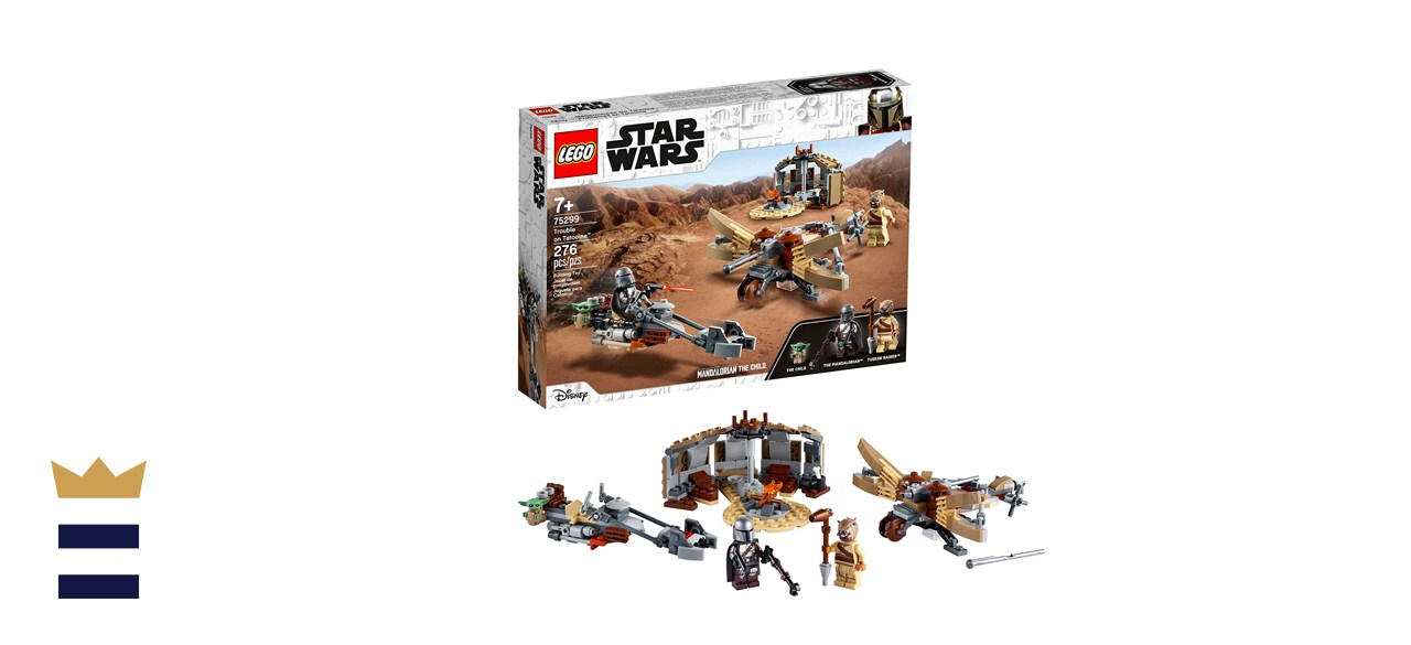 LEGO Star Wars: The Mandalorian Trouble on Tatooine Set