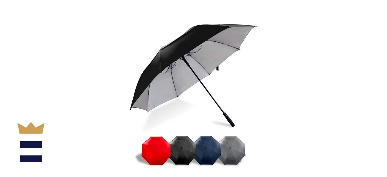 Lejorain 68-Inch Windproof UV Protection Umbrella