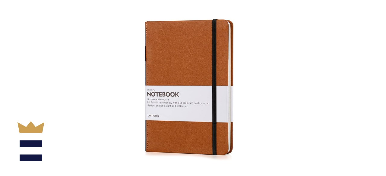 Lemome Thick Classic Notebook with Pen Loop