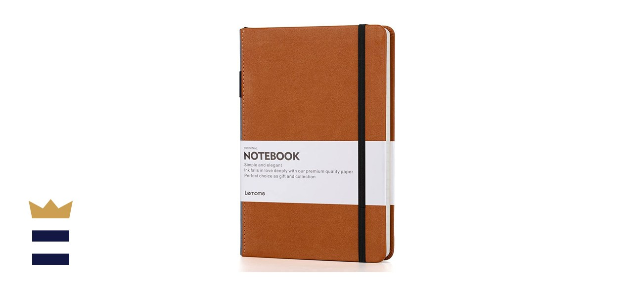 Lemone Thick Classic Notebook with Pen Loop
