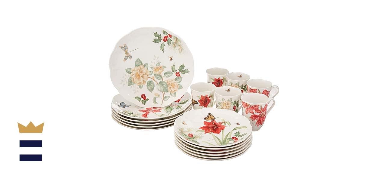 Lenox Butterfly Meadow 18-Piece Holiday Dinnerware Set