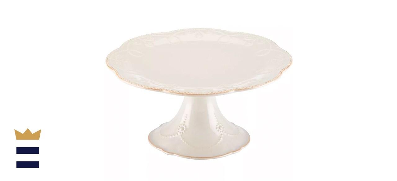 Lenox French Perle Medium Cake Stand